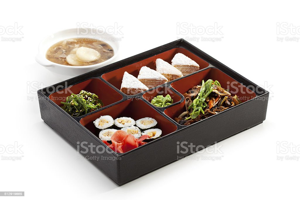 Bento Lunch stock photo