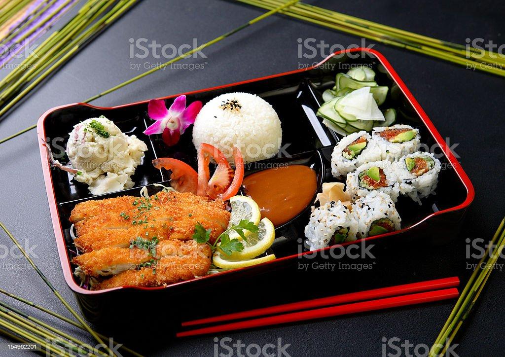 Bento royalty-free stock photo