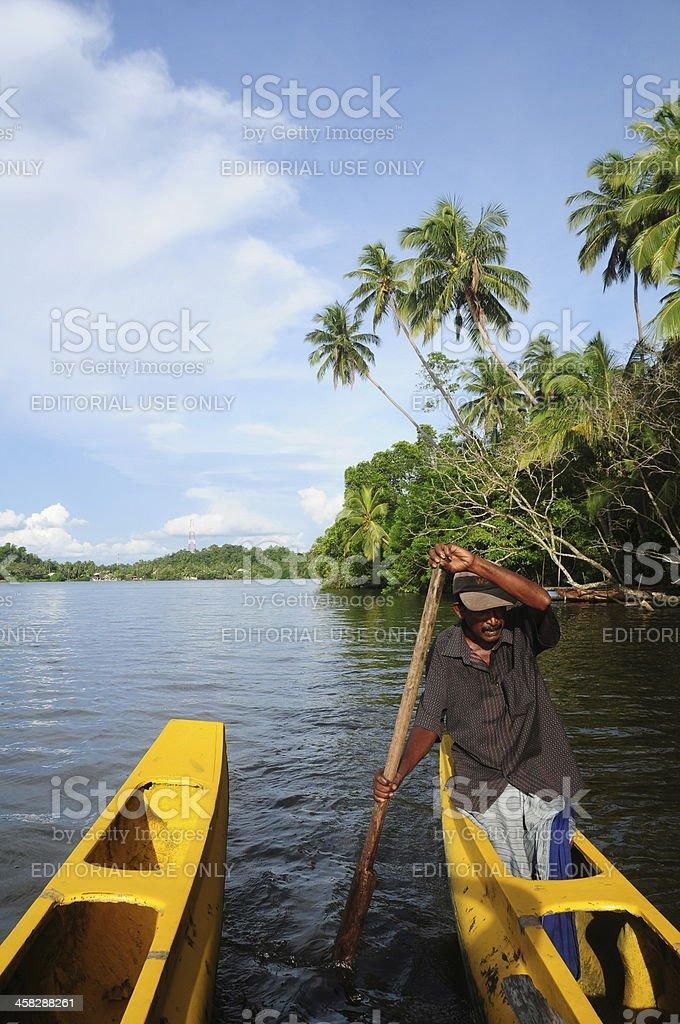 Bentota, Sri Lanka. royalty-free stock photo