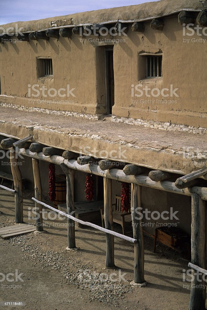 Bent's Old Fort, Colorado stock photo