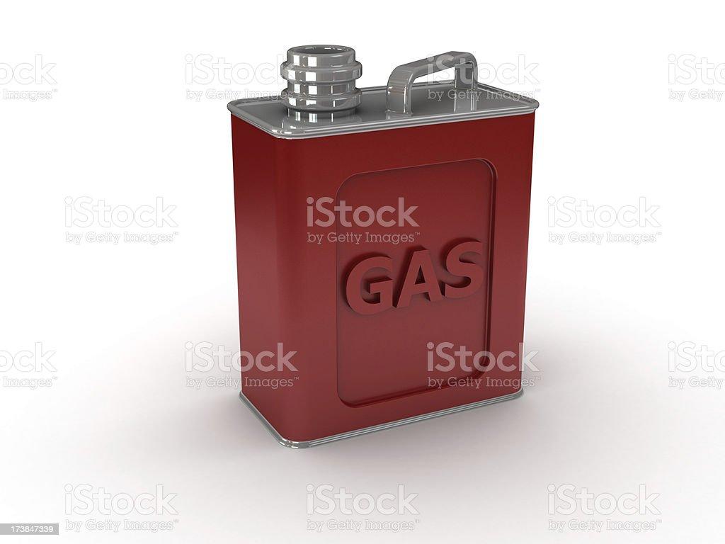 Benzine can royalty-free stock photo