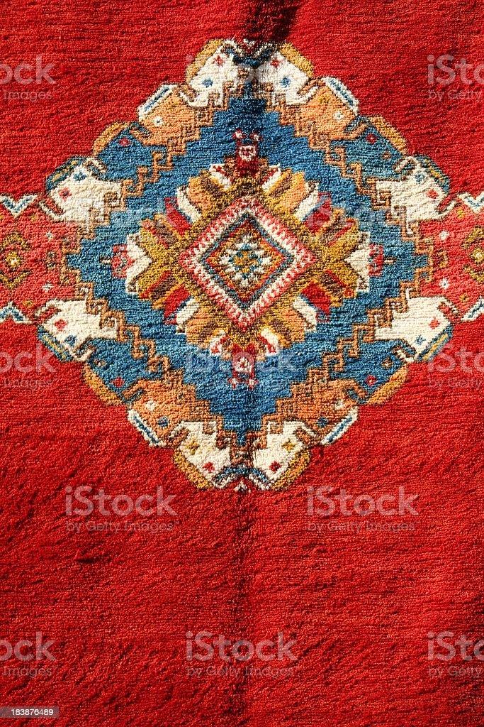 Berber carpet pattern stock photo
