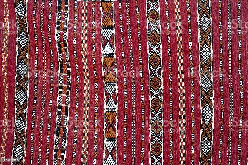 Berber carpet stock photo
