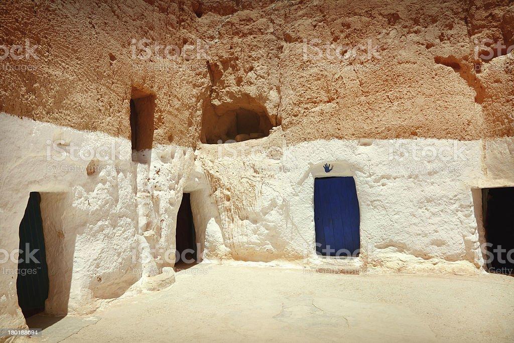 Berber house royalty-free stock photo