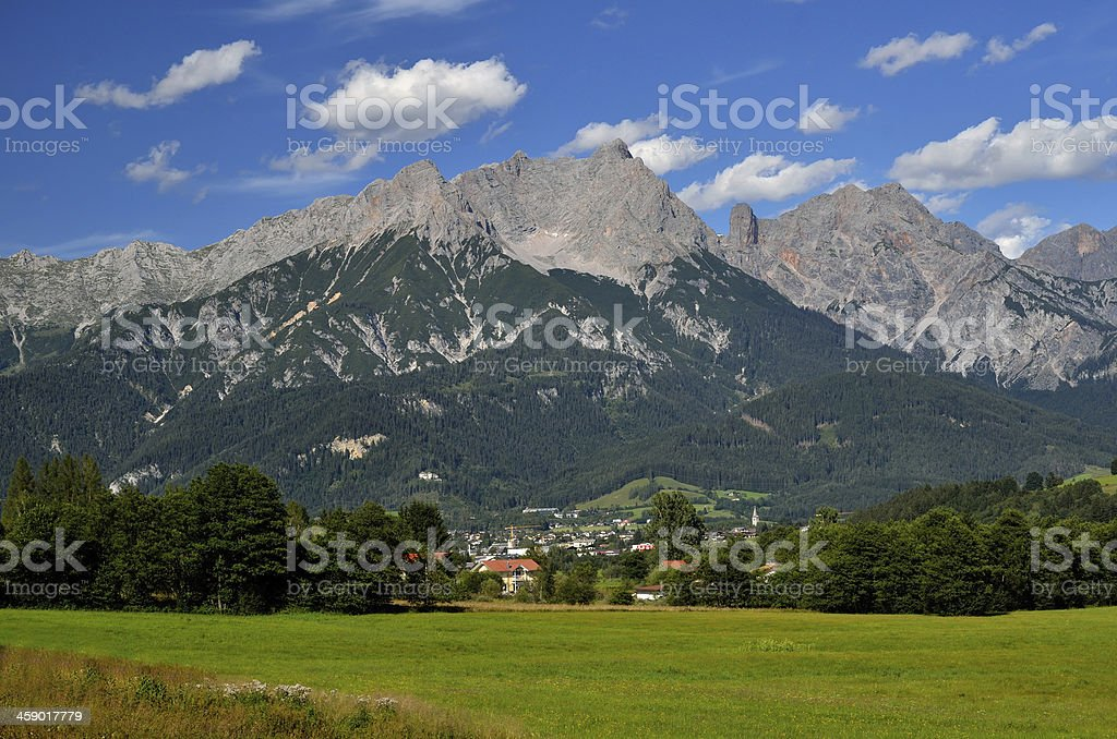 Berchtesgaden Alps, Austria royalty-free stock photo