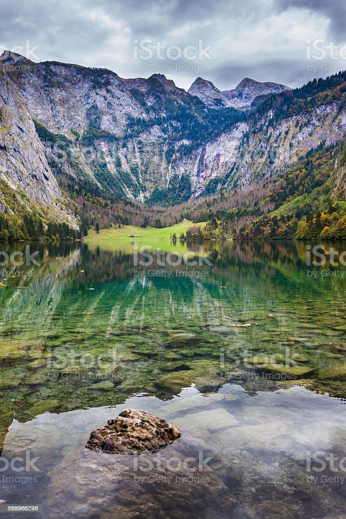 Berchtesgaden in Germany stock photo