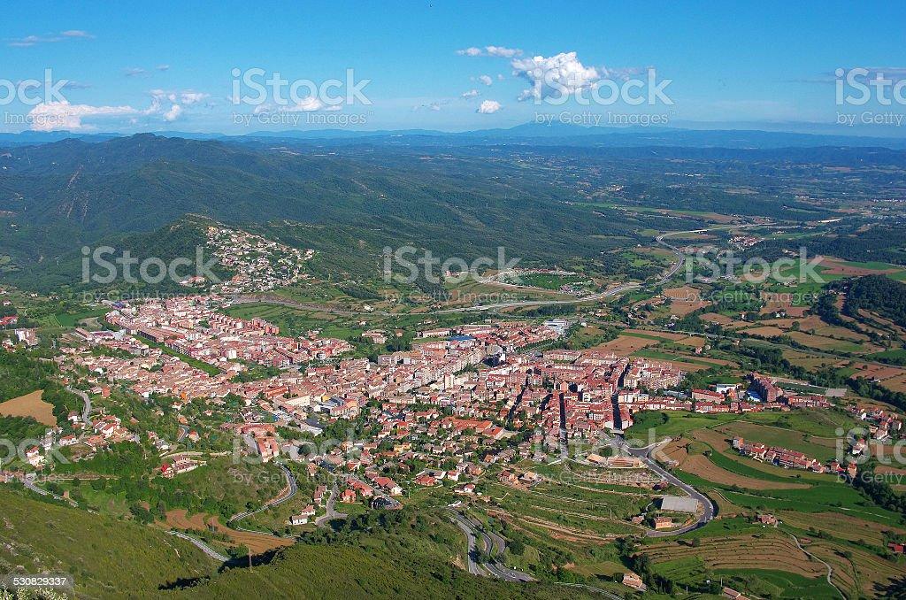 Berga area, Catalonia, Spain stock photo