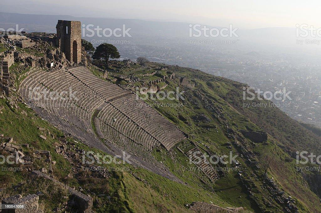 Bergama - Turkey royalty-free stock photo