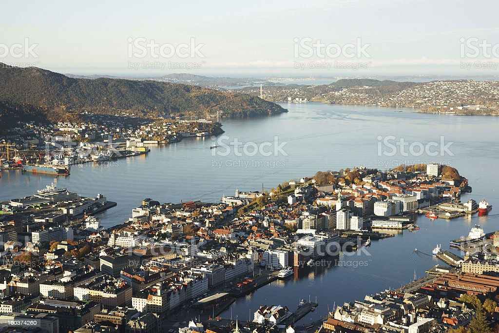 Bergen, Norway royalty-free stock photo