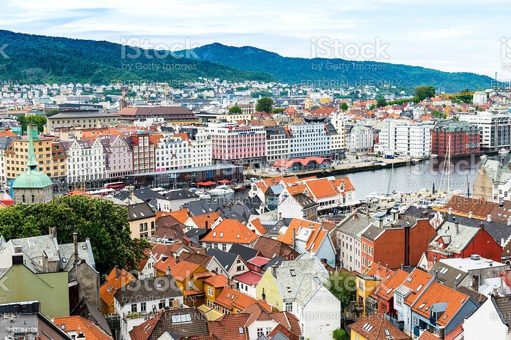 Bergen - Norway stock photo