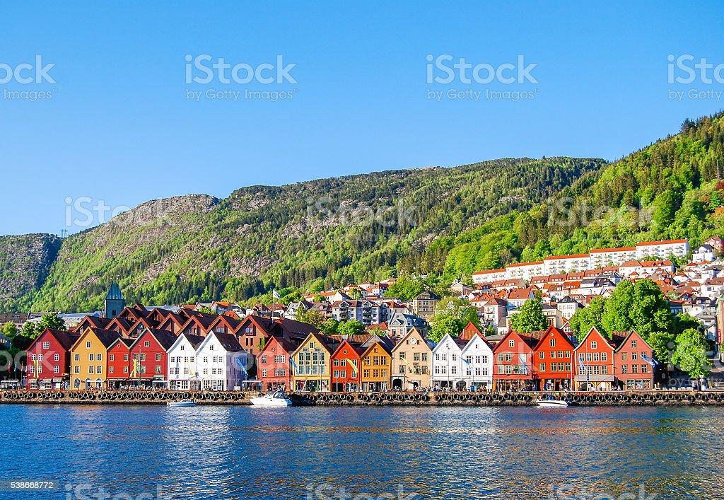 Bergen, Norway stock photo