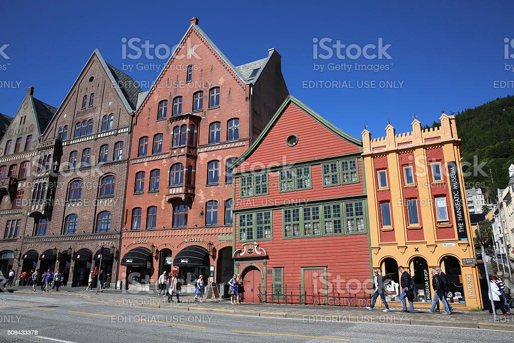 Bergen stock photo