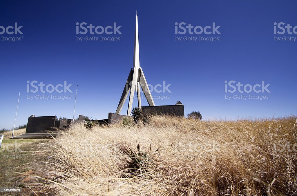 Berg-en-dal Monument in Belfast, South Africa stock photo