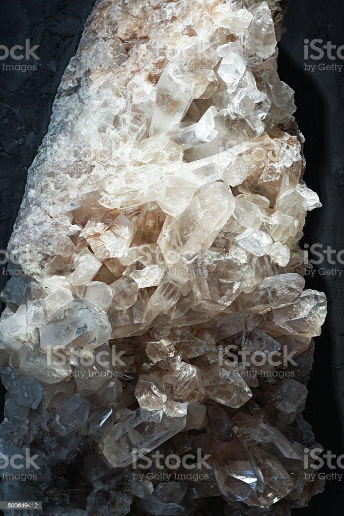 Bergkristall stock photo
