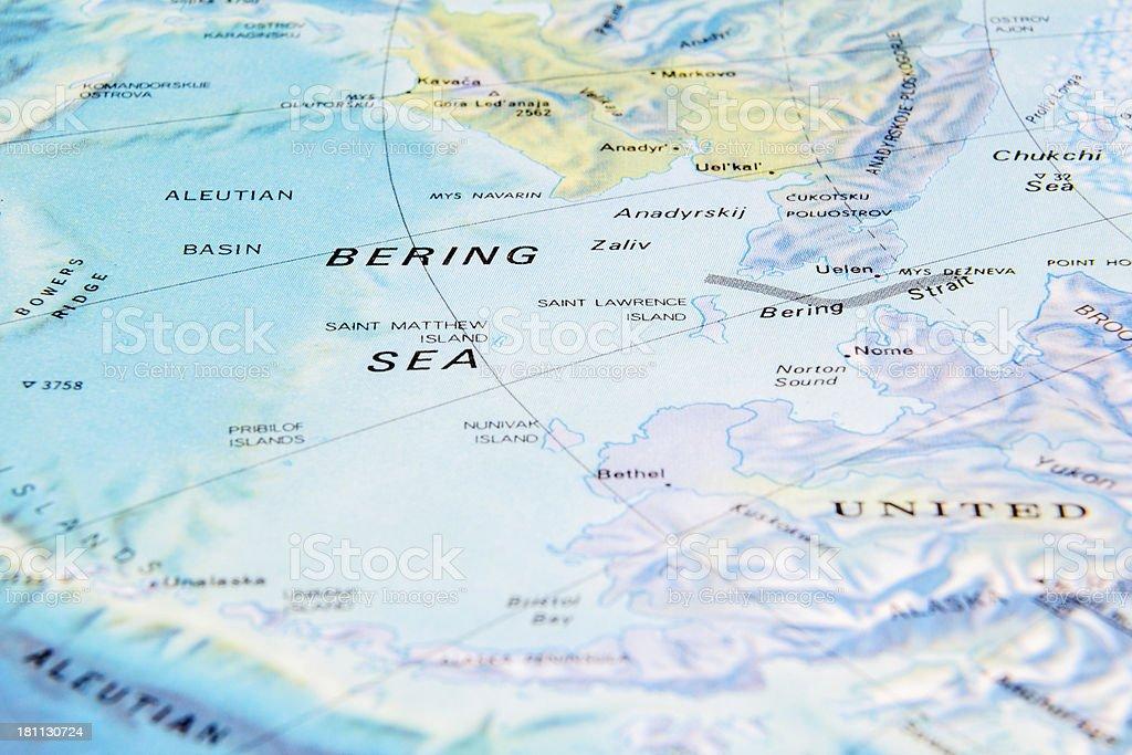 Bering Sea stock photo