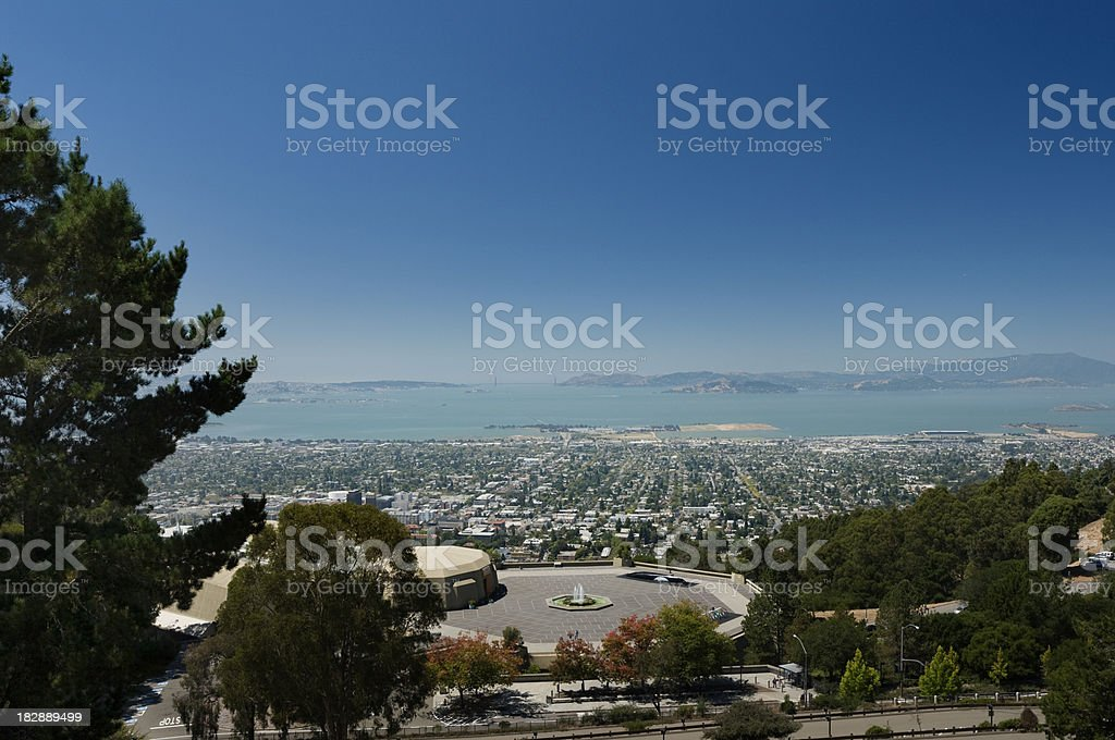 Berkeley California Golden Gate stock photo