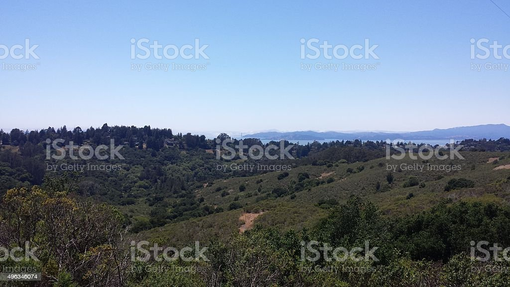 Berkeley, California Hills stock photo