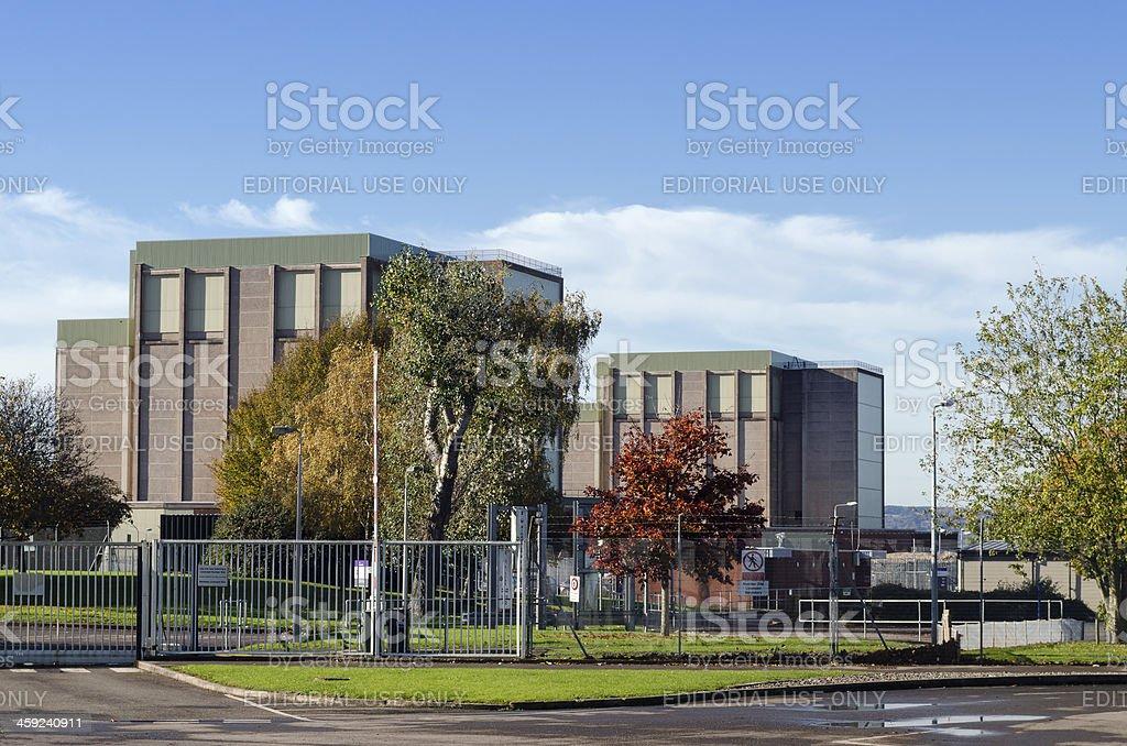 Berkeley Nuclear power station, United Kingdom royalty-free stock photo