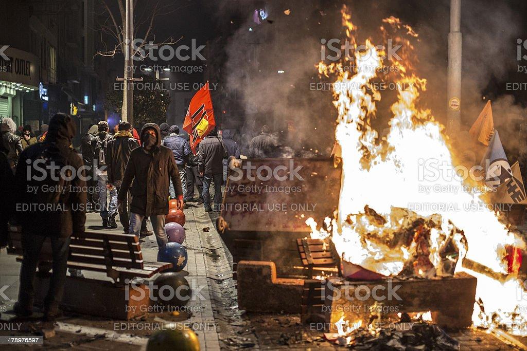 Berkin Elvan protests stock photo