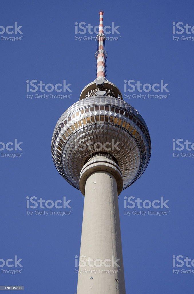 Berlin Alexanderplatz - TV-Turm stock photo