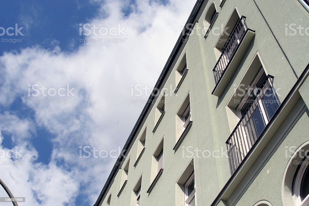 Berlin Apartment Building royalty-free stock photo