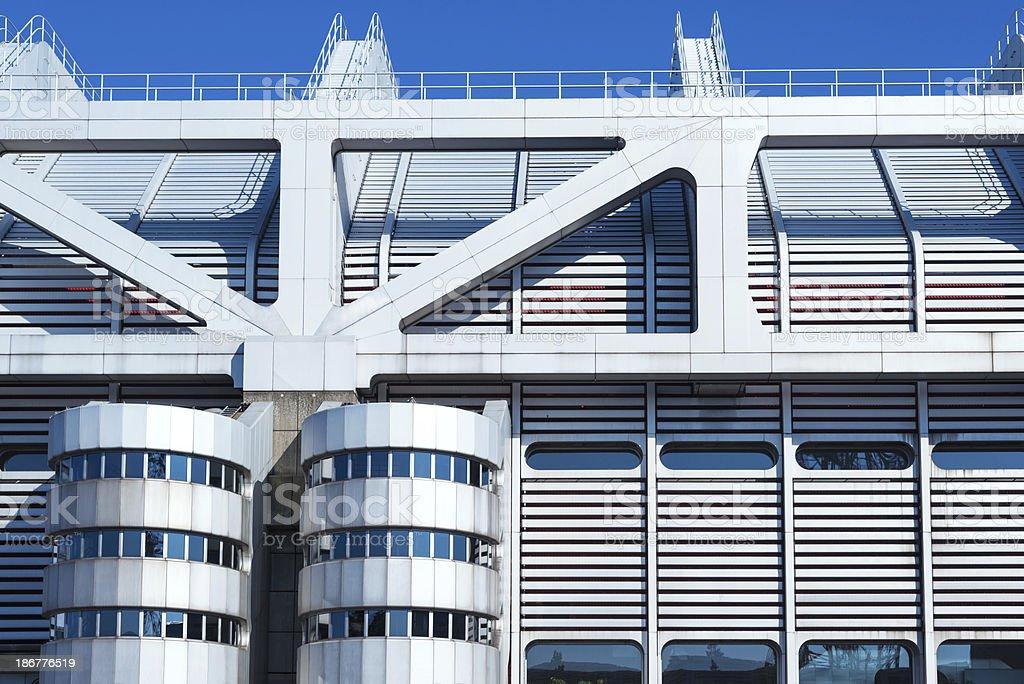 ICC Berlin Architecture stock photo