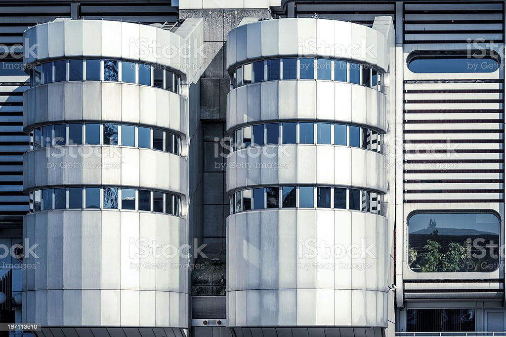 ICC Berlin Architecture royalty-free stock photo