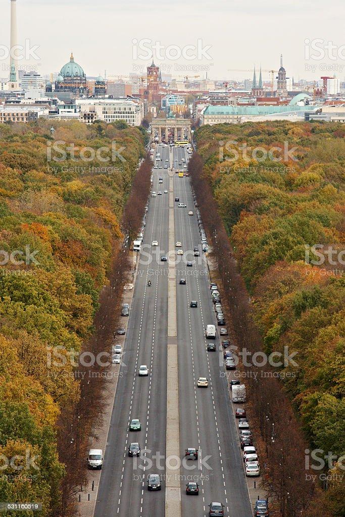 Berlin Autumn stock photo