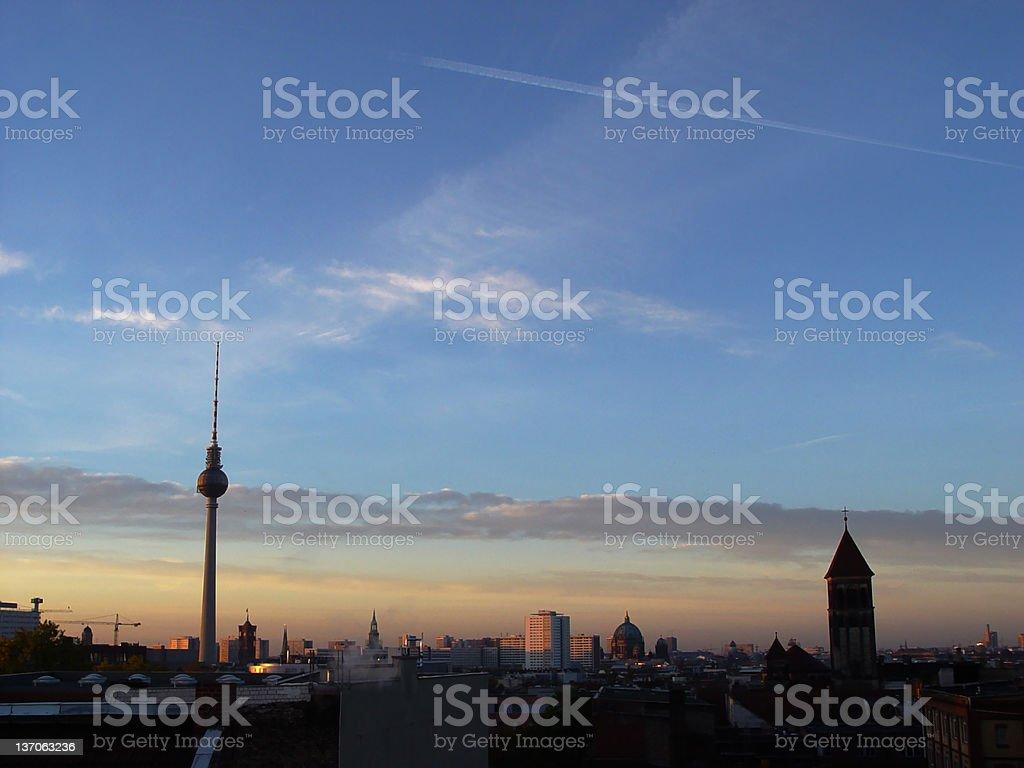 berlin awakening royalty-free stock photo