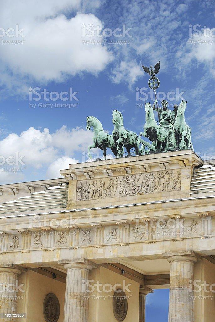 Berlin. Brandeburg Tor stock photo