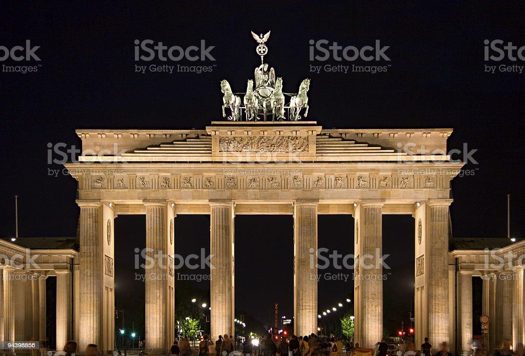 Berlin Brandenburg Gate royalty-free stock photo