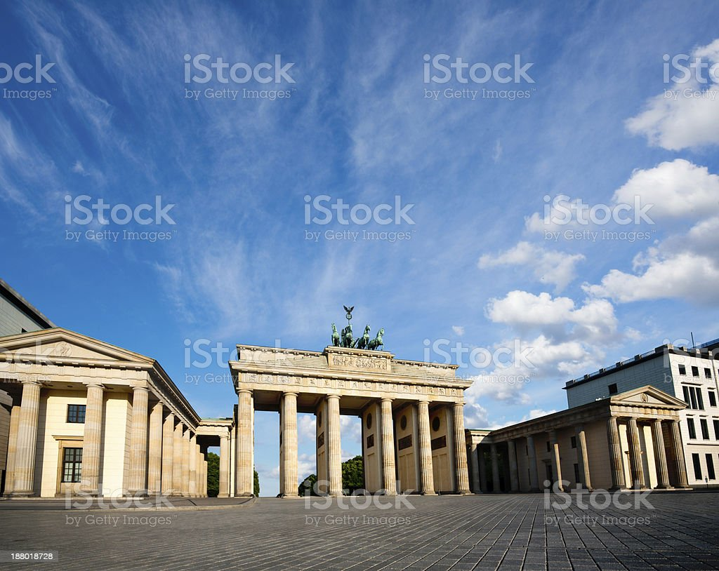 Berlin, Branderburg Gate stock photo