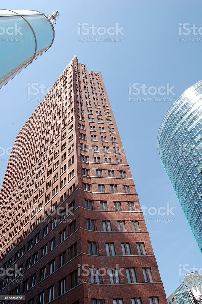 Berlin Building stock photo