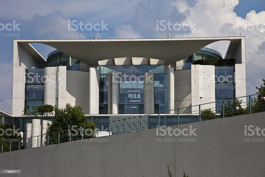 Berlin, Bundeskanzleramt stock photo