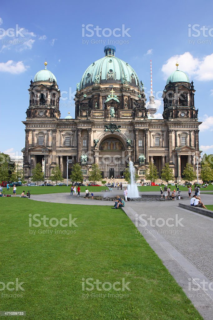 Berlin Cathedral - Berliner Dom stock photo