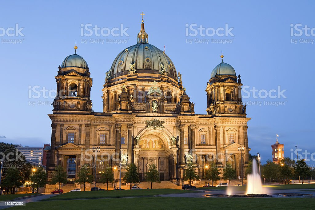 Berlin Cathedral, Germany stock photo