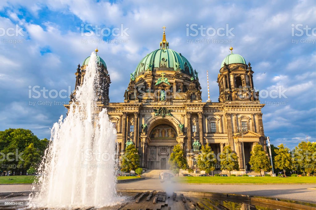 Berlin Cathedral (Berliner Dom), Germany stock photo