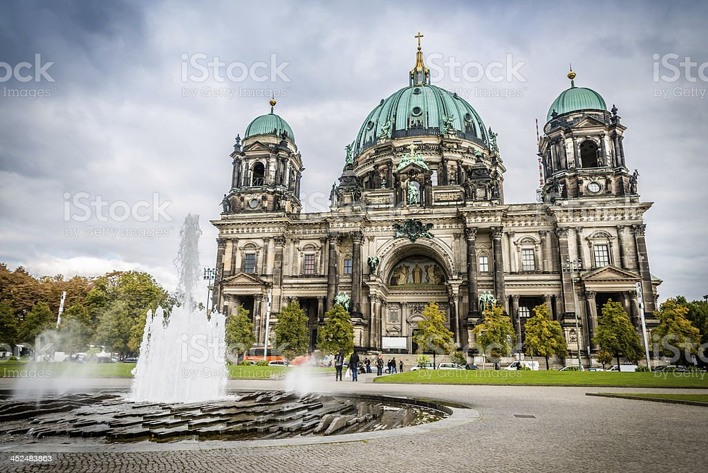 Berliner Dom Palast stock photo
