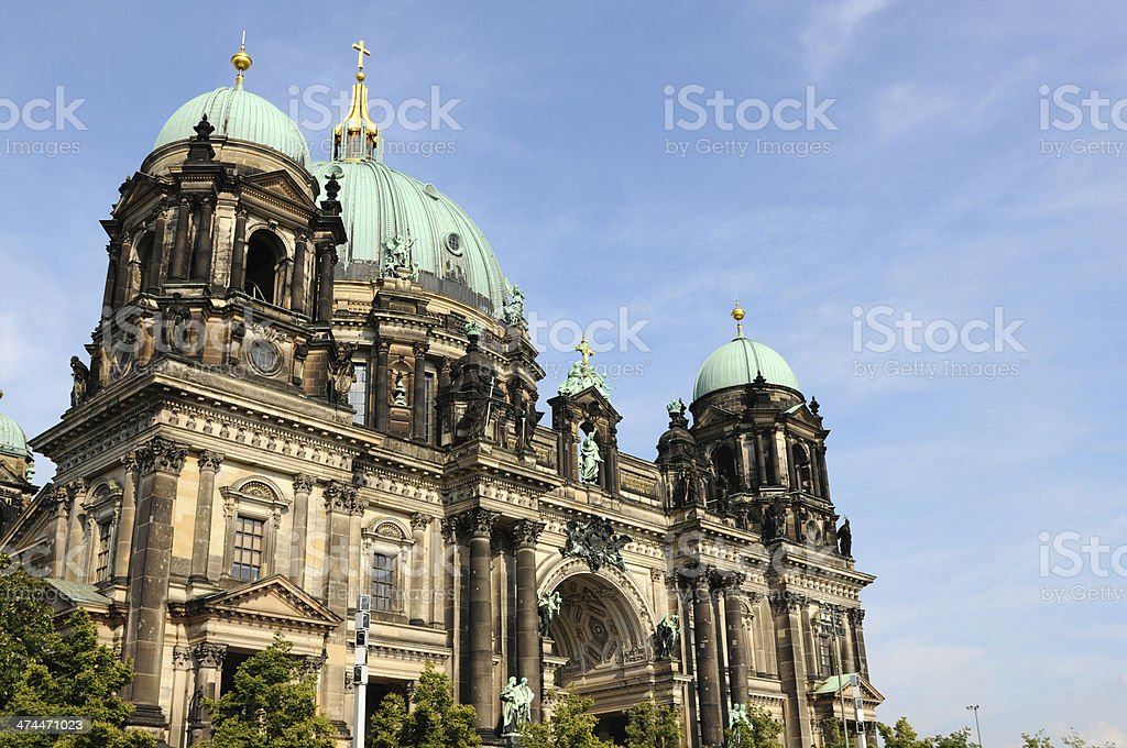 Berlin Cathedral (Germany) royalty-free stock photo