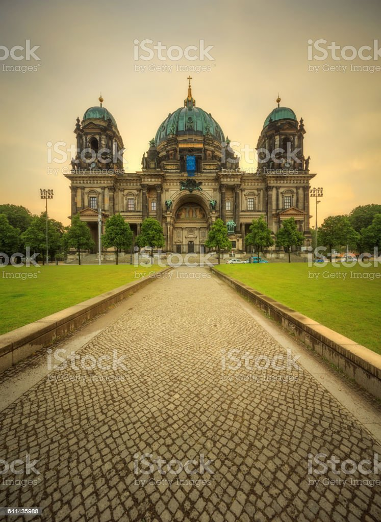 Berlin Cathedral, Berliner Dom stock photo