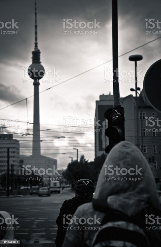 Berlin city life royalty-free stock photo