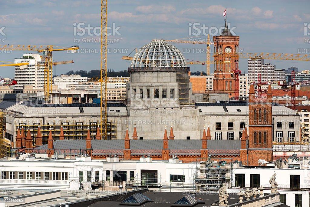 Berlin City Palace stock photo