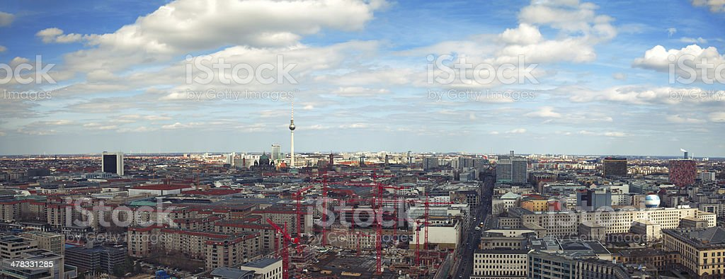 Berlin city view royalty-free stock photo