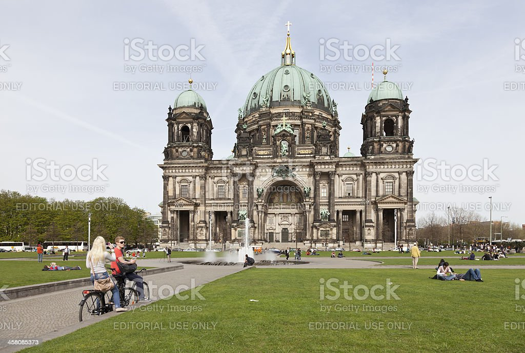 Berlin Dome Cathedral stock photo