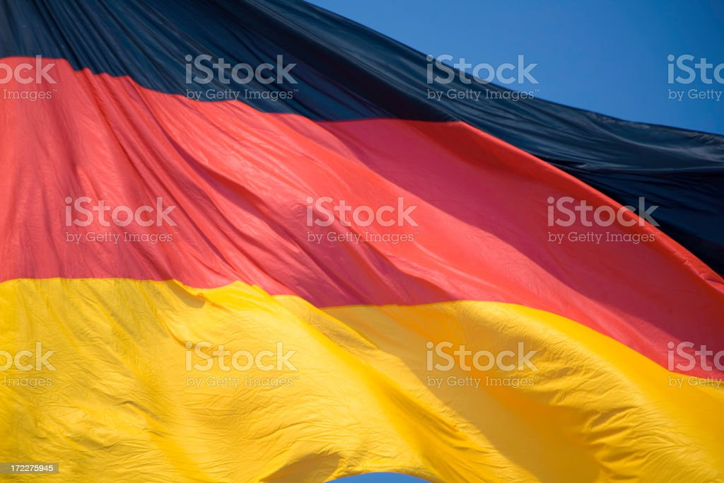 Berlin Flag royalty-free stock photo