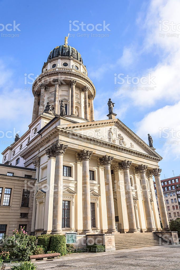 Berlin - French Cathedral stock photo
