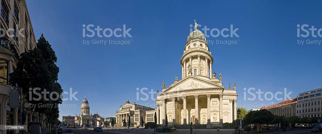 Berlin Gendarmenmarkt dawn royalty-free stock photo