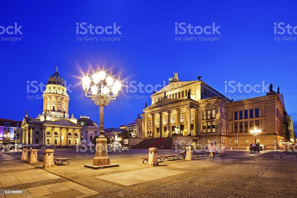 Berlin, Gendarmenmarkt royalty-free stock photo