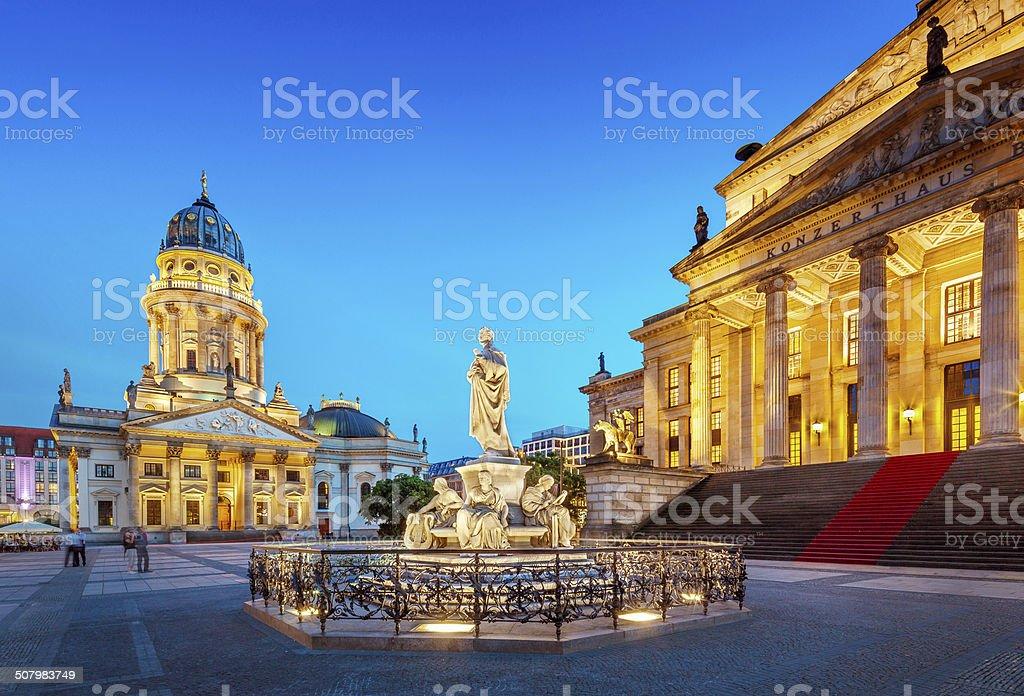 Berlin, Gendarmenmarkt stock photo