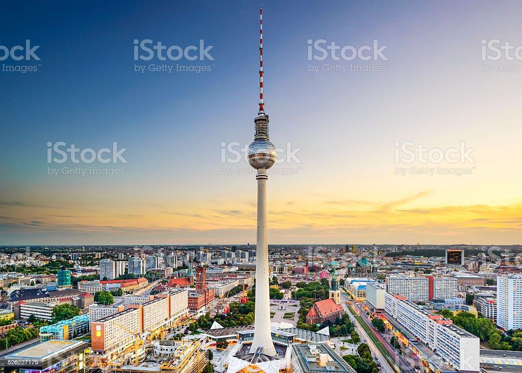 Berlin, Germany City Skyline stock photo